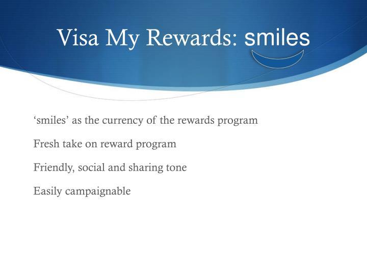 Visa My Rewards: