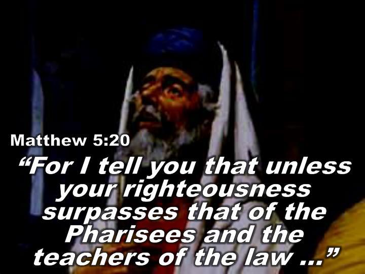 Matthew 5:20