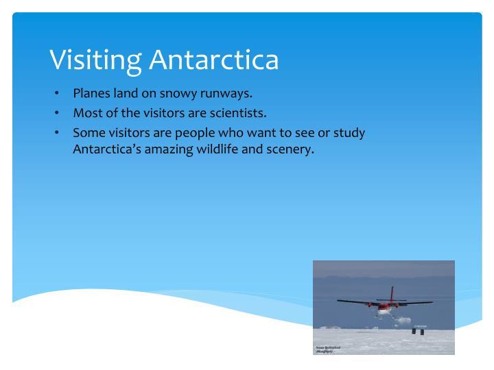 Visiting Antarctica