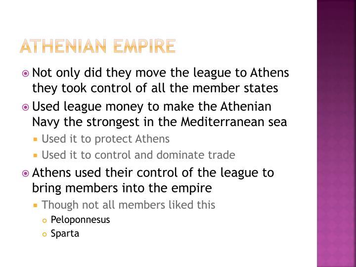 Athenian Empire