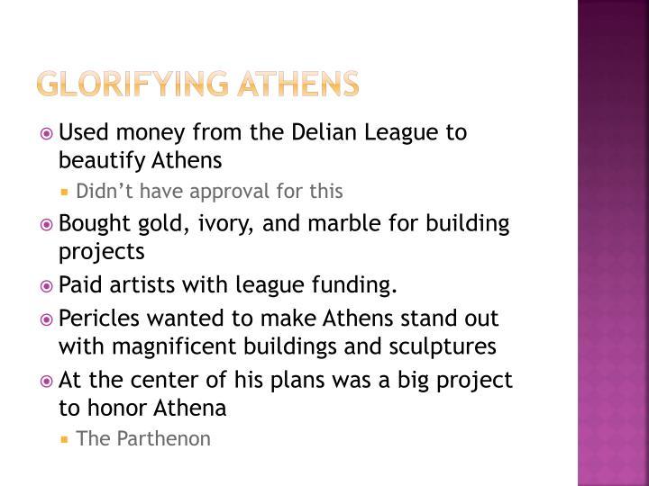 Glorifying Athens