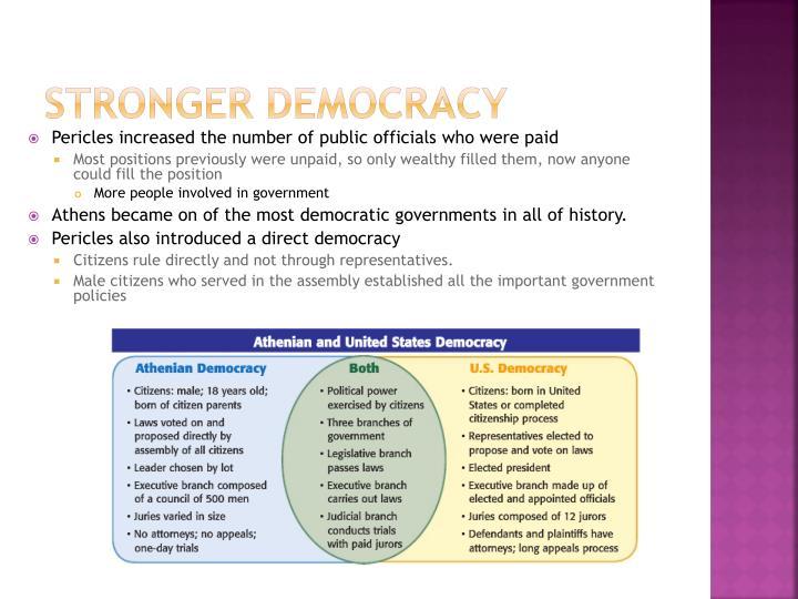 Stronger Democracy