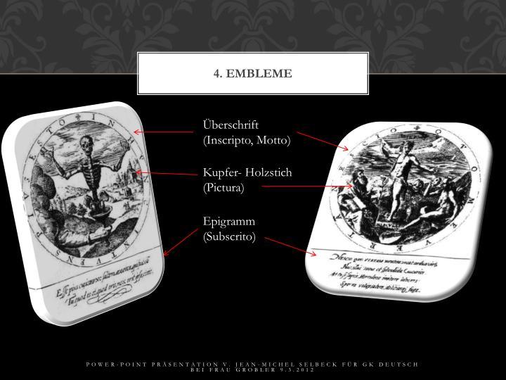 4. Embleme
