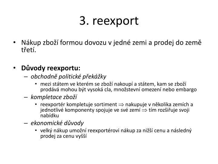 3. reexport