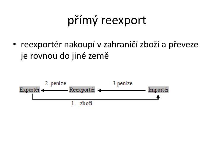 přímý reexport