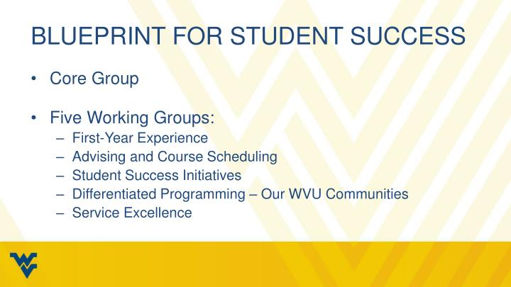 Blueprint for student success