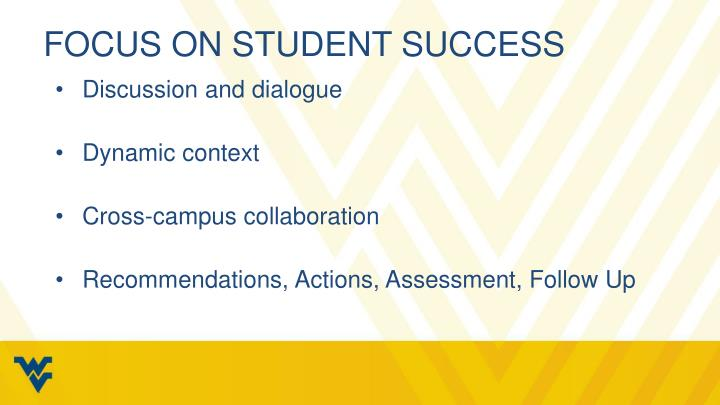 Focus on student success