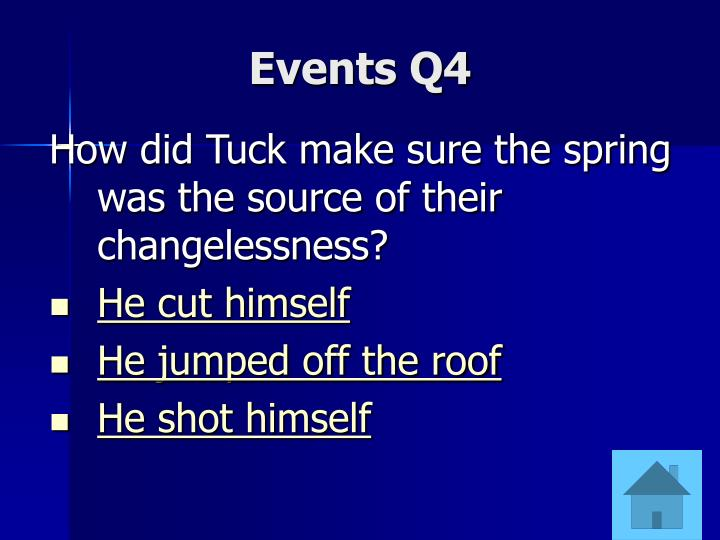 Events Q4