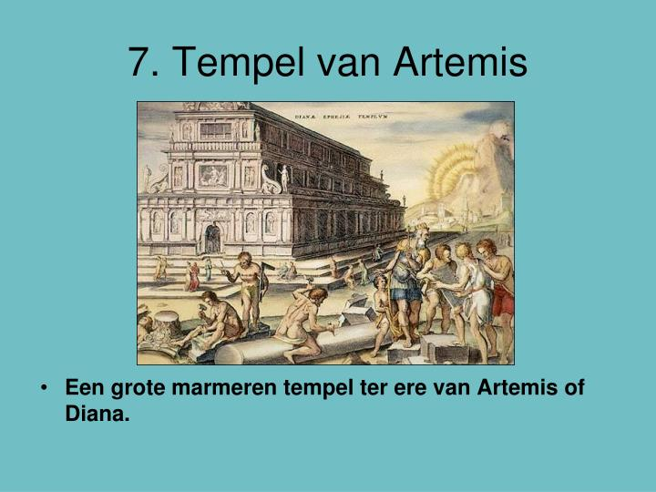 7. Tempel van Artemis