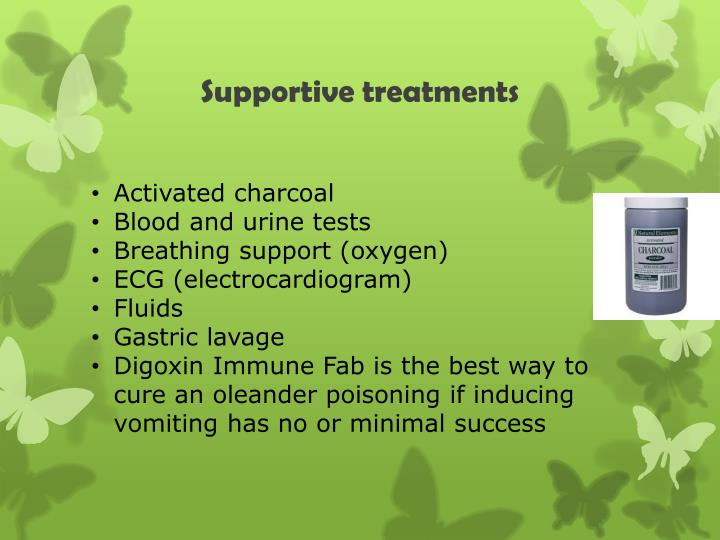 Supportive treatments