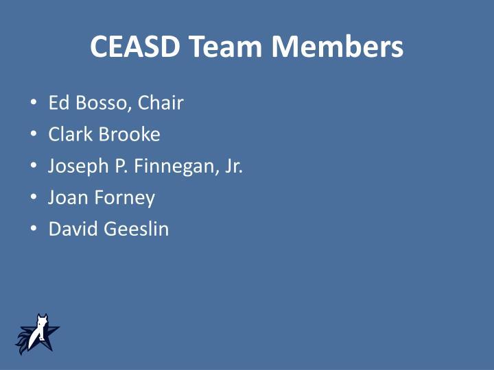 CEASD Team Members