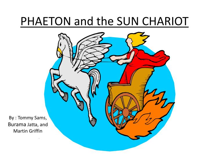 Phaeton and the sun chariot