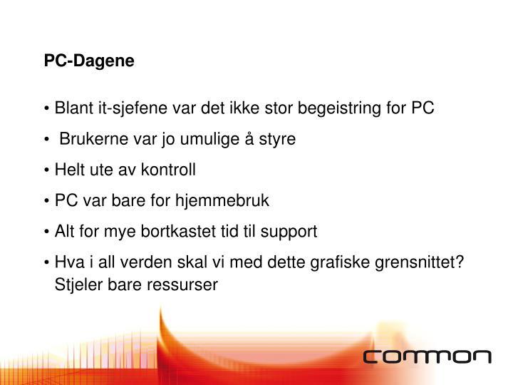 PC-Dagene