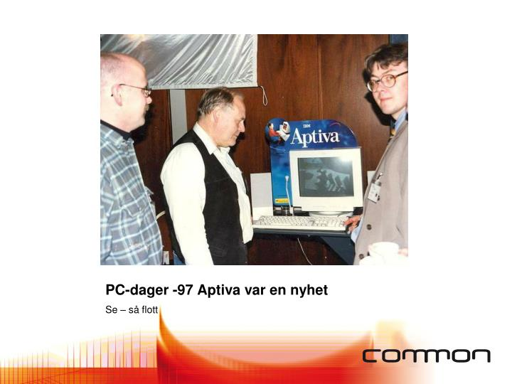 PC-dager -97