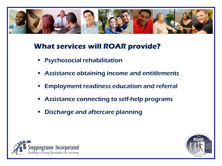 What services will ROAR provide?