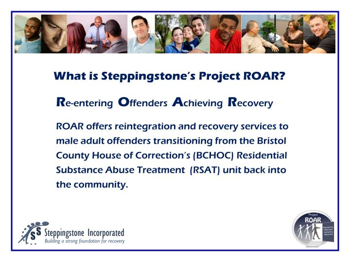 What is Steppingstone's Project ROAR?