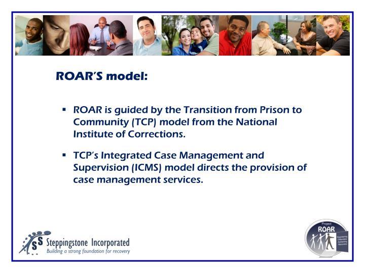 ROAR'S model: