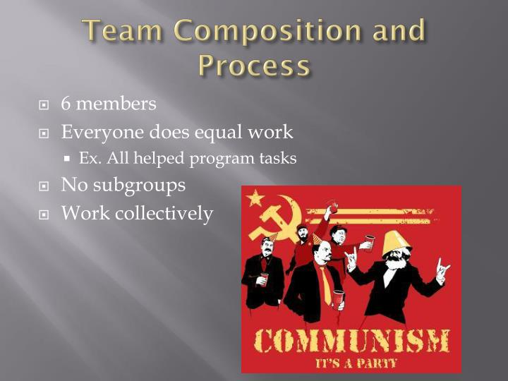 Team Composition and Process