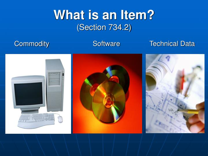 What is an Item?