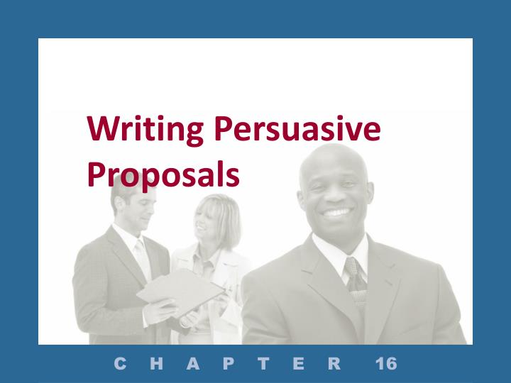 what is a proposal in writing