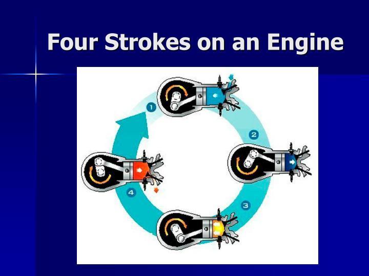 Four Strokes on an Engine