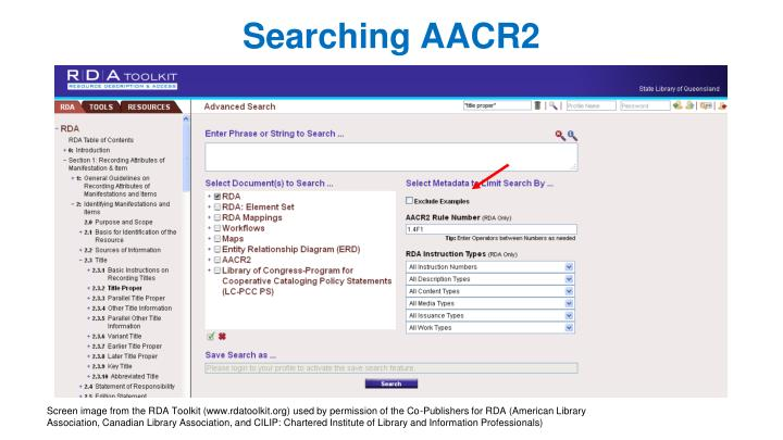 Searching AACR2