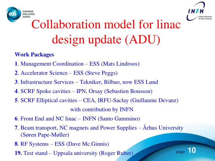 Collaboration model for