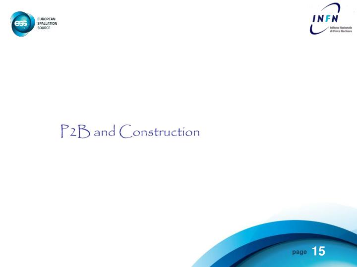 P2B and Construction