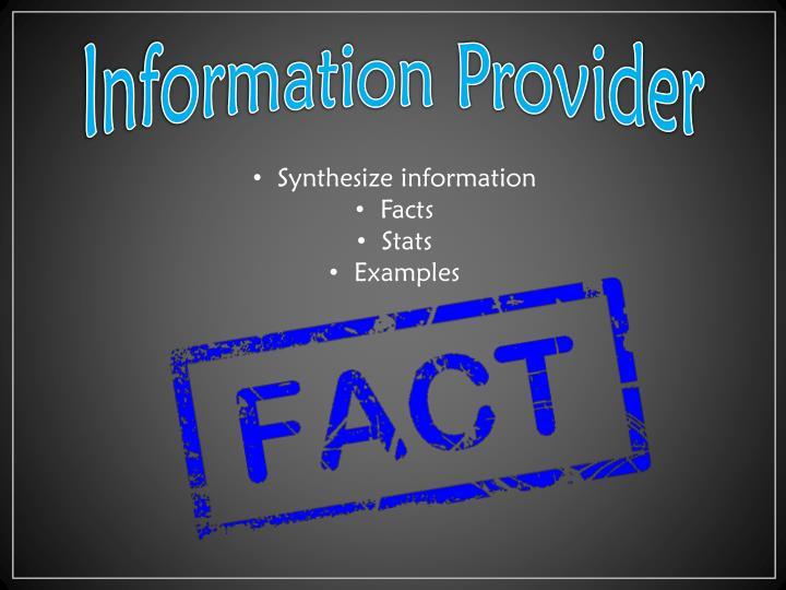Information Provider