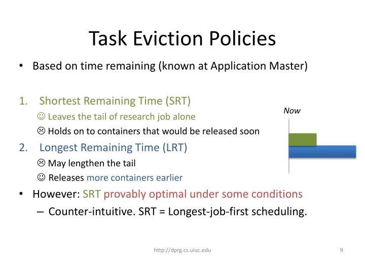 Task Eviction Policies