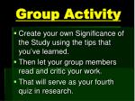 group activity2
