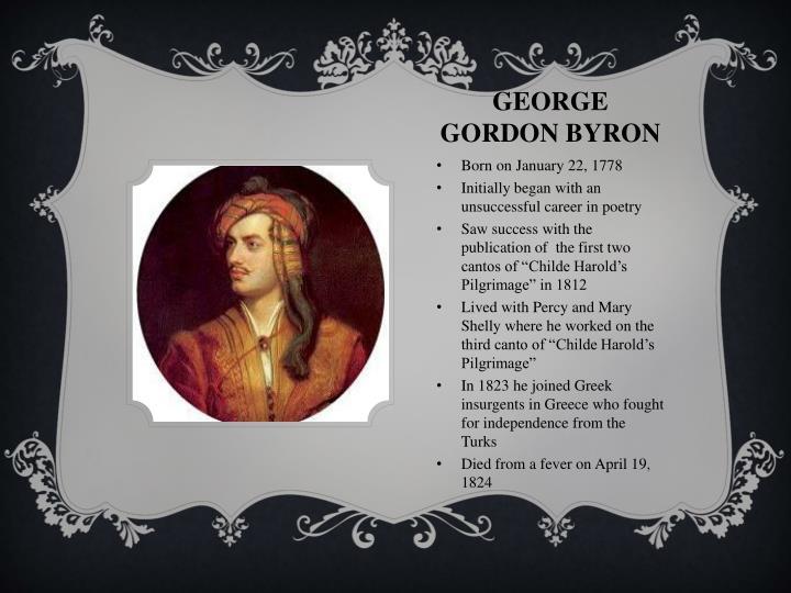 George Gordon Byron