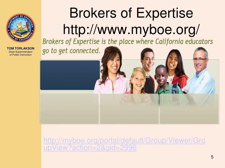 Brokers of Expertise