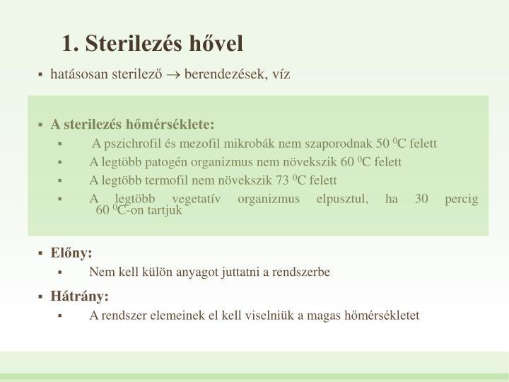 1. Sterilezs hvel
