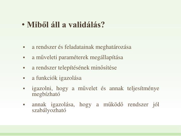 Mibl ll a validls?