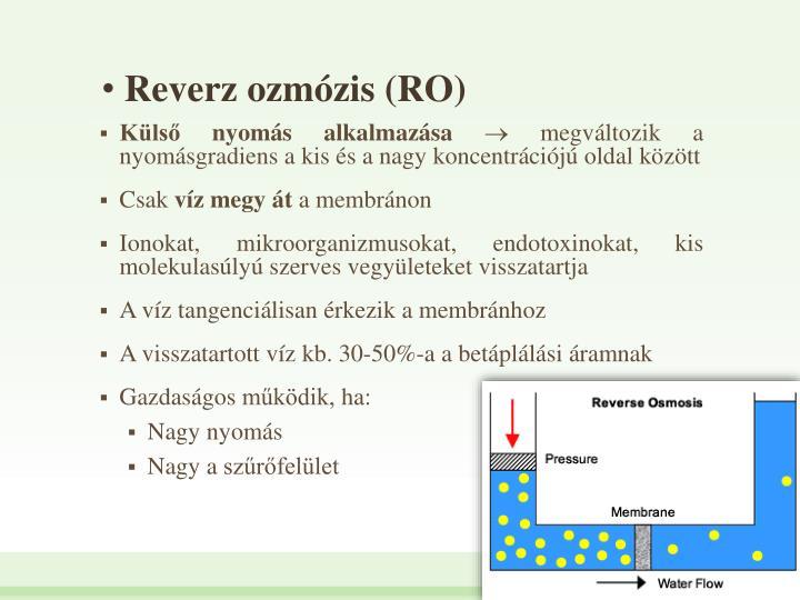 Reverz ozmzis (RO)