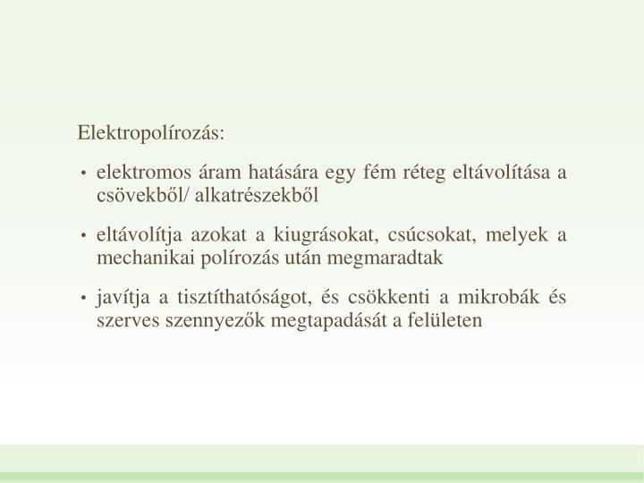 Elektropolrozs: