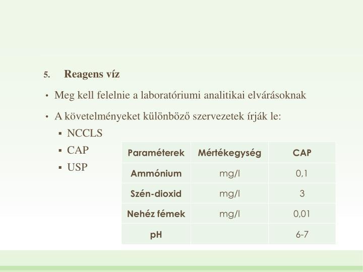 Reagens vz