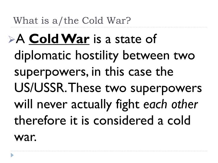 which of the two superpowers contributed more to the cold war More from forcestv - comment: the new cold war has begun  this meant  that regions of influence of the two superpowers were tacitly.