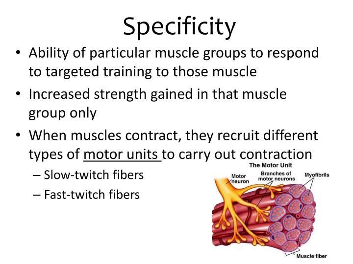 Specificity