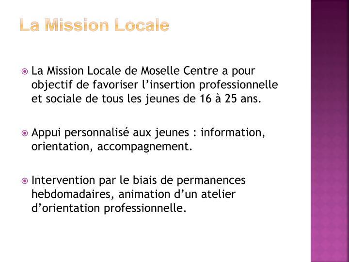 La Mission Locale