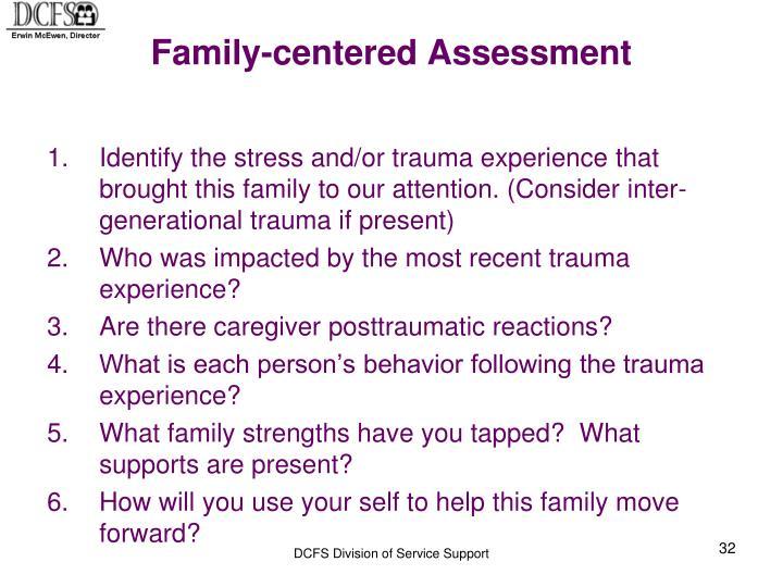 Family-centered Assessment