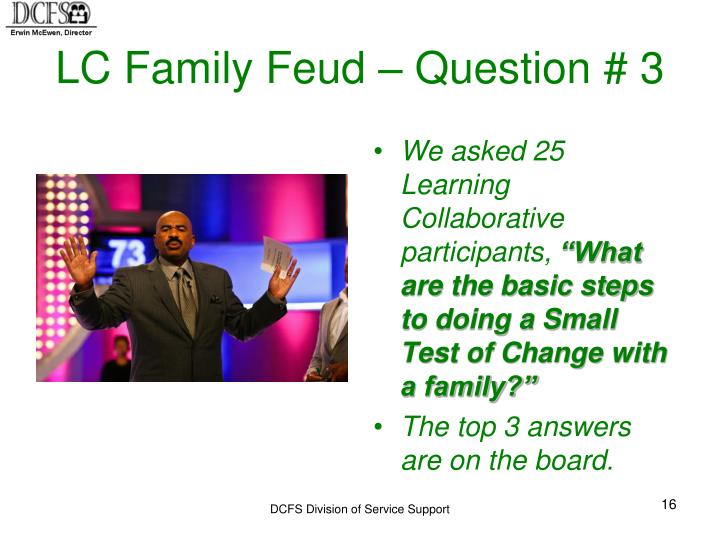 LC Family Feud – Question # 3