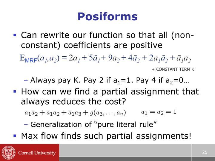 Posiforms