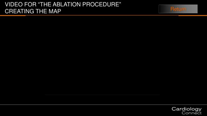 "VIDEO FOR ""THE ABLATION PROCEDURE"""