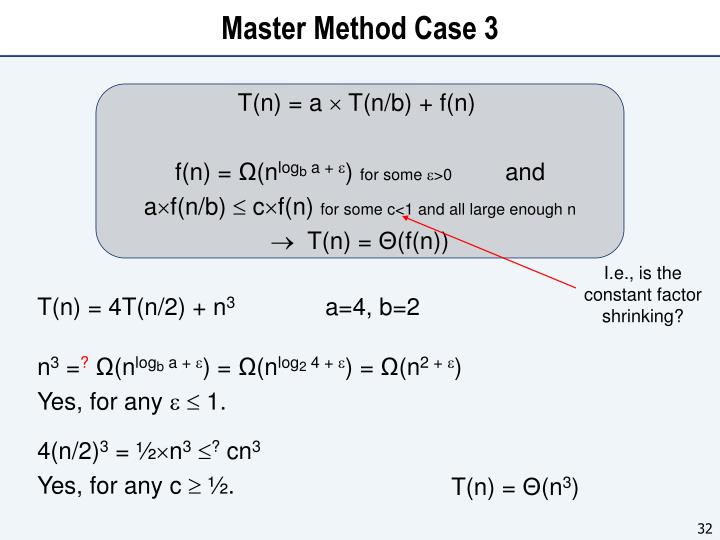 Master Method Case 3