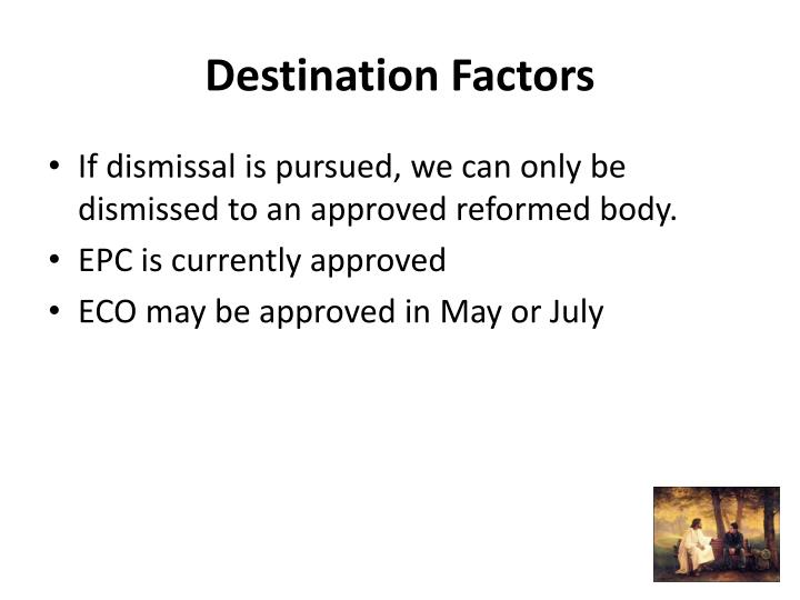 Destination Factors