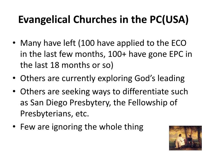 Evangelical Churches in the PC(USA)