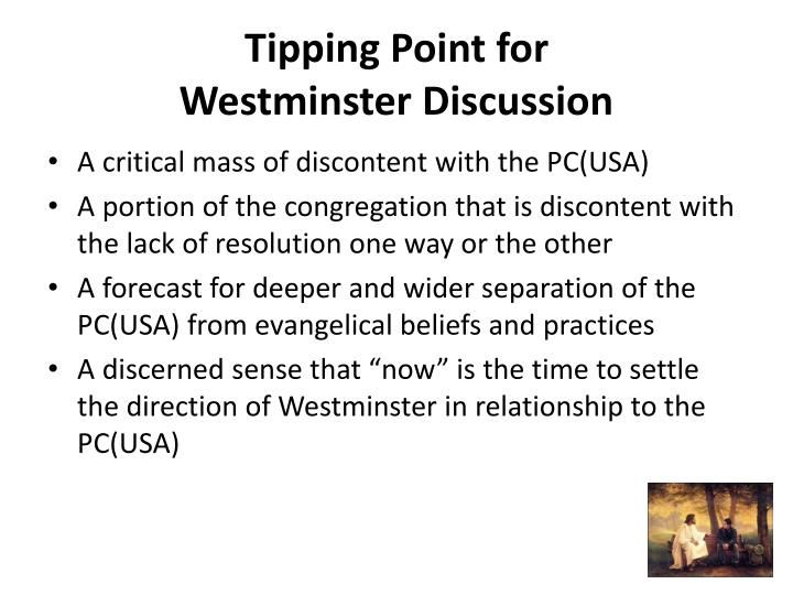 Tipping Point for