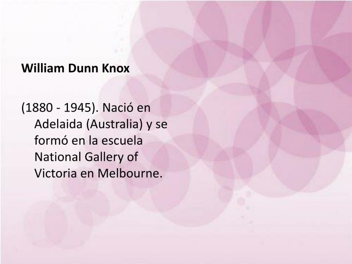 William Dunn Knox